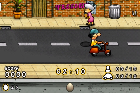 Screenshot Eggs Shooter Lite
