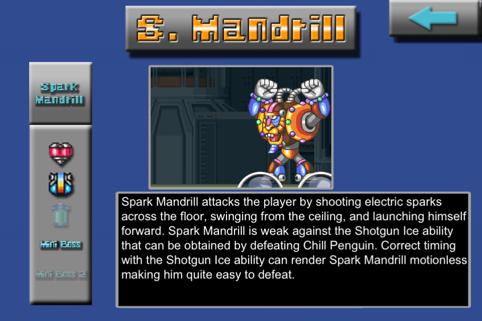 Screenshot Mega Man X Guide